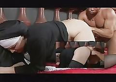 free retro nun porn